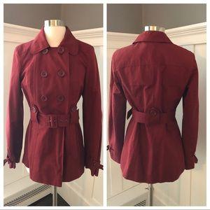 Ann Taylor LOFT Trench Style Jacket Coat